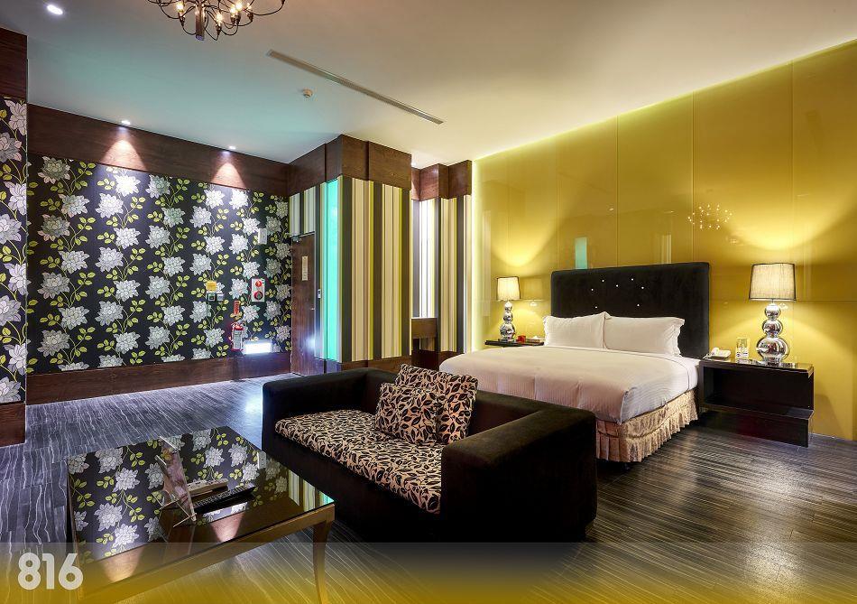 台南休息|台南汽車旅館|台南旅館-為楓精品渡假別館 | 客房介紹-璀燦套房816