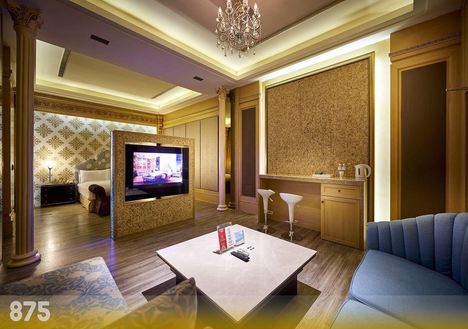 台南摩鐵-為楓精品渡假別館 | 客房介紹-璀燦套房875