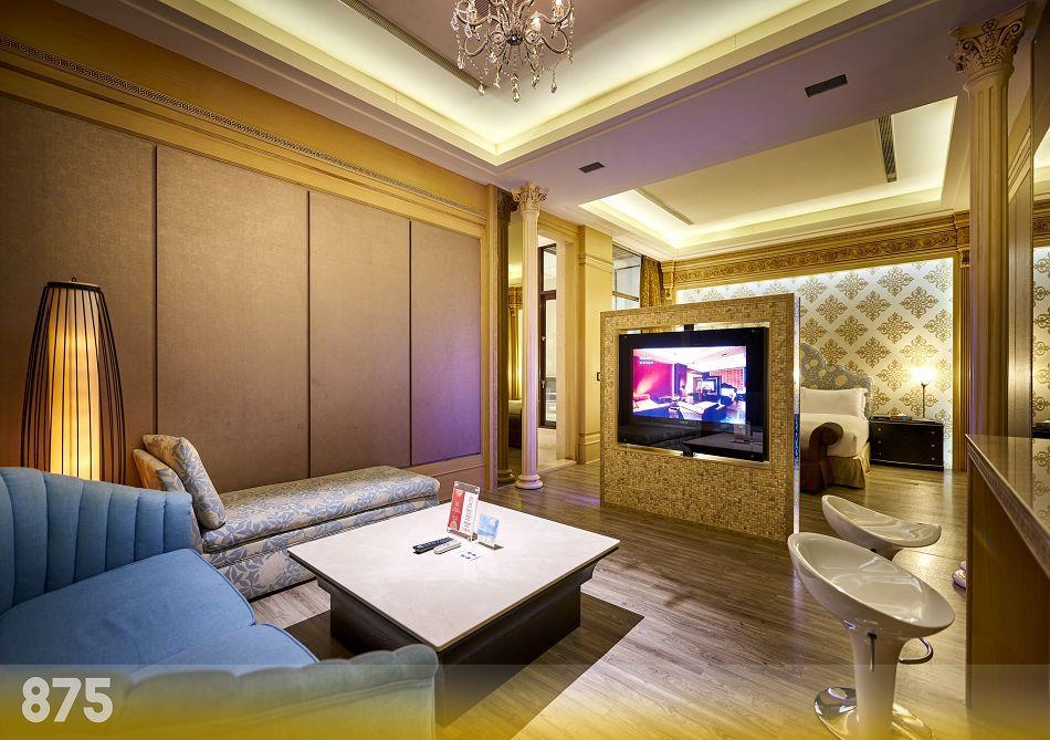 台南汽車旅館-為楓精品渡假別館 | 客房介紹-璀燦套房