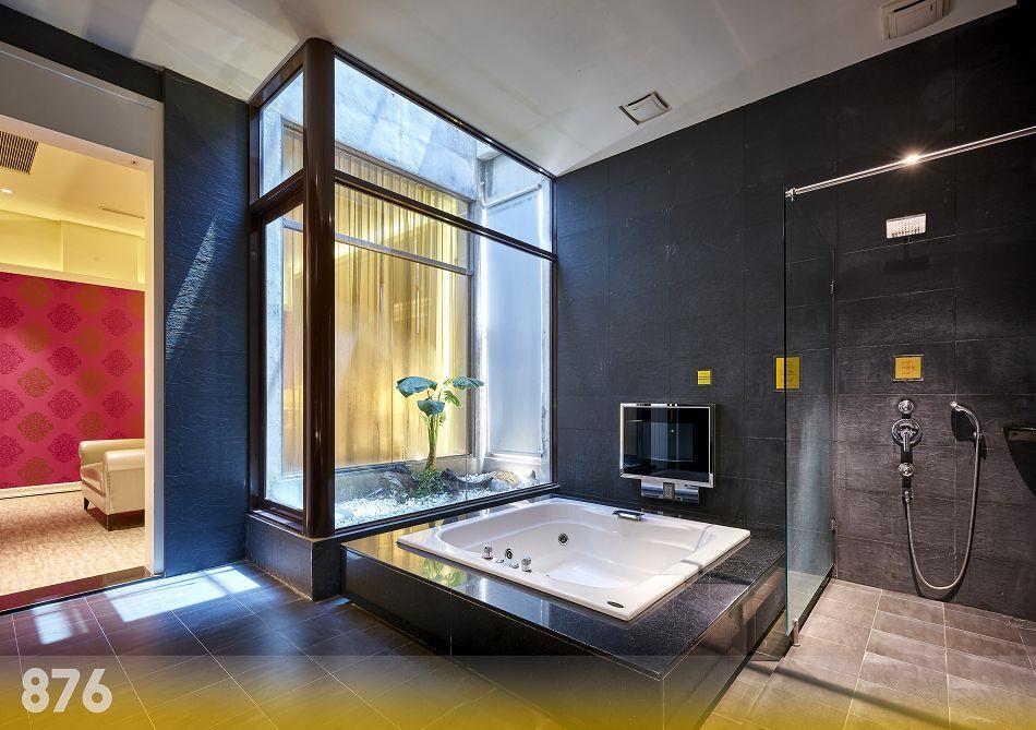 台南旅館,台南摩鐵-為楓精品渡假別館 | 客房介紹-璀燦套房876