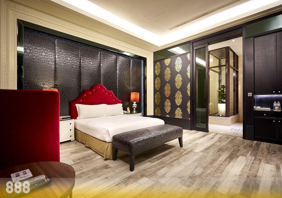 台南旅館,台南摩鐵-為楓精品渡假別館 | 客房介紹-典藏套房888